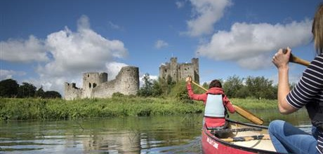 Trim Castle canoe