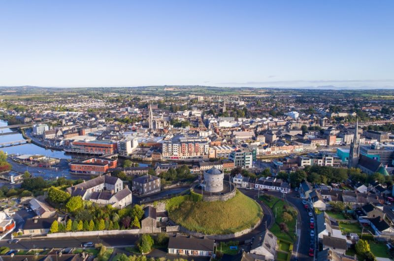 Drogheda by Copter View Ireland