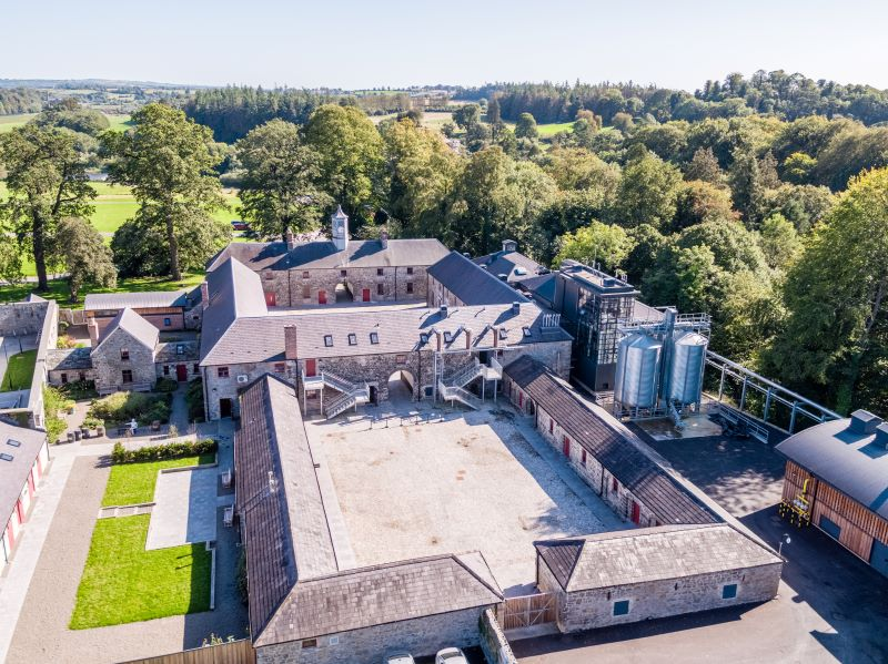 Drone Shots of Slane Distillery
