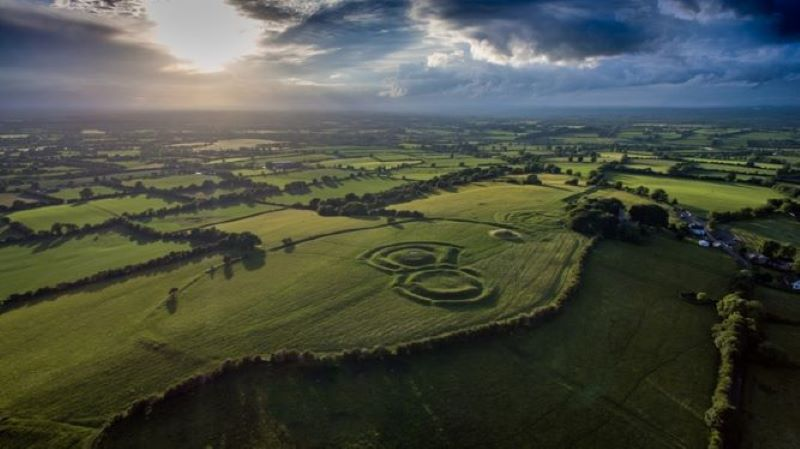 Hill of Tara by Copter View Ireland_resized